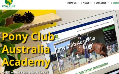 Pony Club Academy Learning Launched