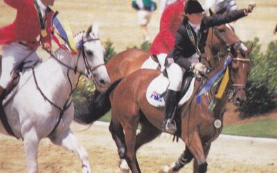 How a Pony Club Girl and her Horse Made it to the Olympics